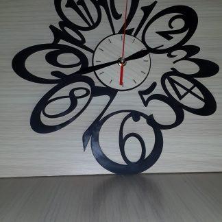 طرح لیزر ساعت